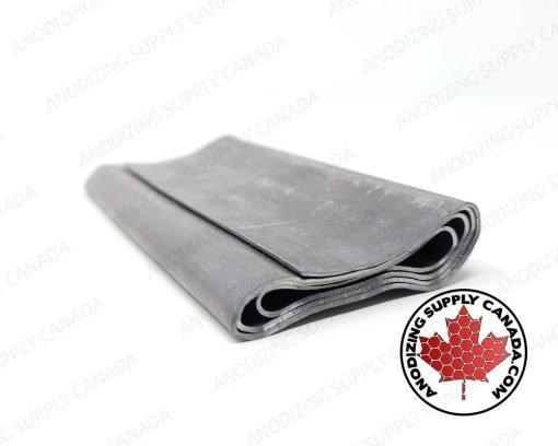 Lead Sheet Cathode for Aluminum Anodizing