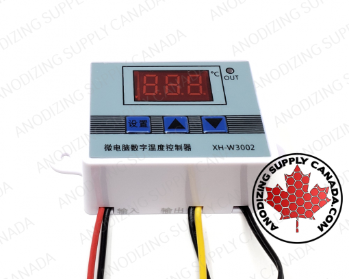 Digital Temperature Controler for Aluminum Anodizing Dye Heating Element